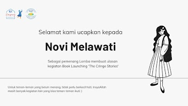 Pemenang Ulasan Book Launching The Cringe Stories