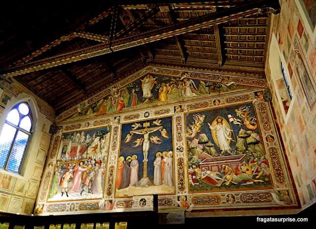Afrescos na Sacristia da Basílica de Santa Croce, Florença