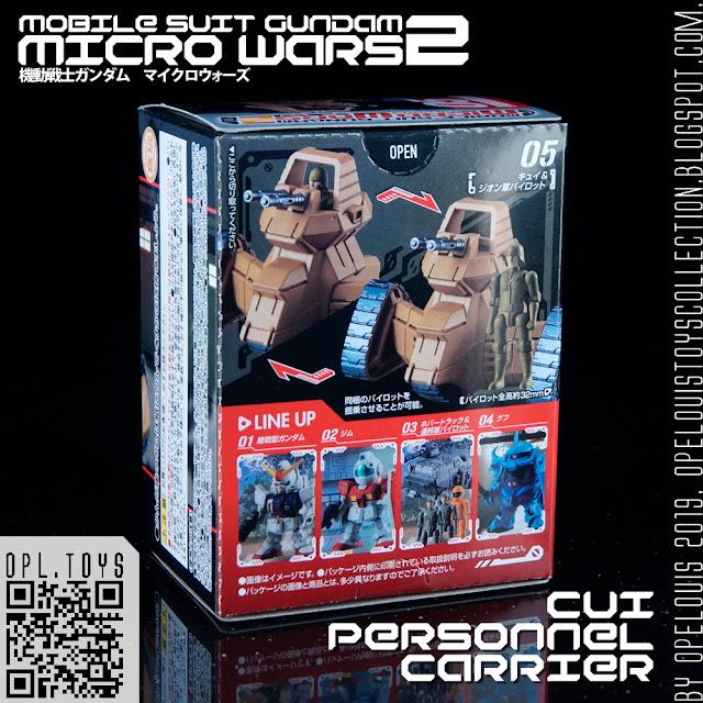 Mobile Suit Gundam MICRO WARS 05 Magella Attack Tank /& 3 pilots