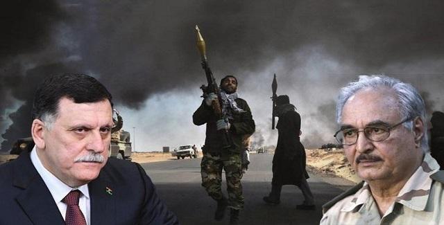 ΛΙΒΥΗ: Ο Σαράτζ ζητά ξένη βοήθεια και ο Χάφταρ στέλνει τελεσίγραφο