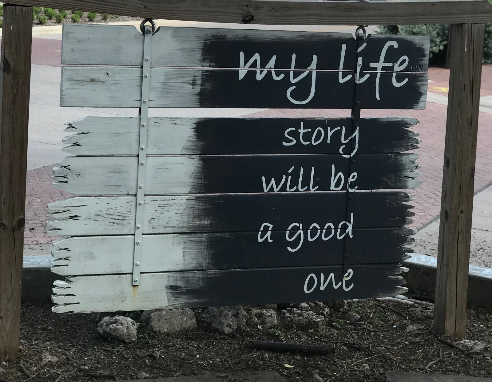 Image: Sign from Oakcliff Dallas Texas off the streets. Used on bits and babbles blog for inspiration and motivation. For years I have tried to rearrange my yesteryears and change my thoughts to fit into a society that knew I was a bit strange. Can read more from the Morning Babbles Section