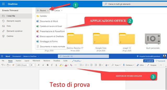 office online onedrive