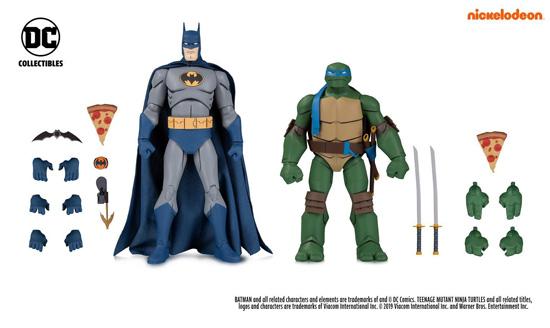 Batman vs TMNT 2-Packs