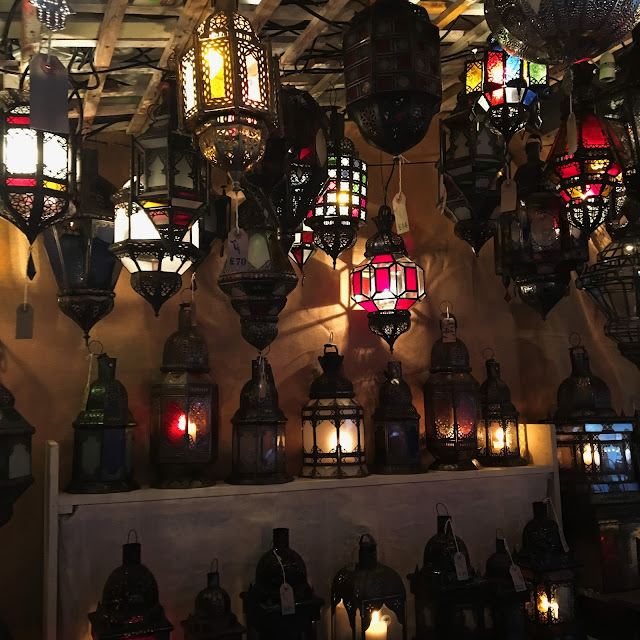 Moroccan Lanterns at Manchester Christmas Markets