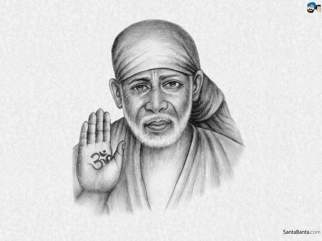 sai baba photo wallpaper