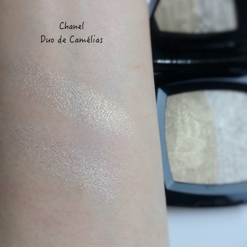 Chanel Duo de Camelias swatches