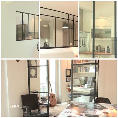 Glaswände in Wohnungen, Beispiele