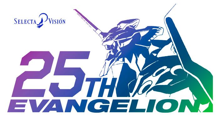 Neon Genesis Evangelion anime - 25 aniversario - Selecta Visión
