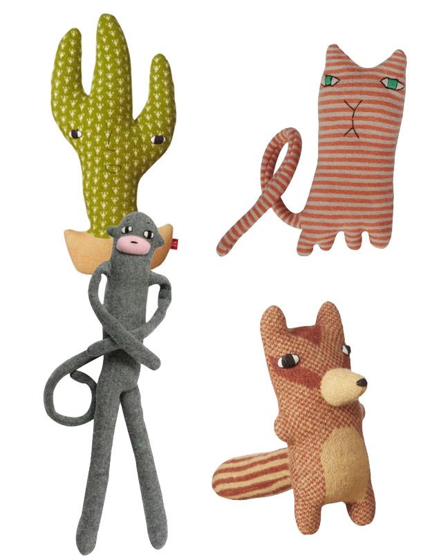 soft toys Donna Wilson