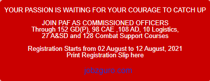 join-paf-as-commissioned-officer-2021