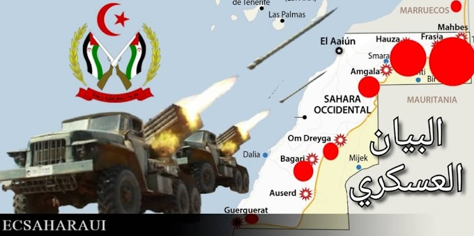🔴 البلاغ العسكري 296 : حرب الصحراء الغربية