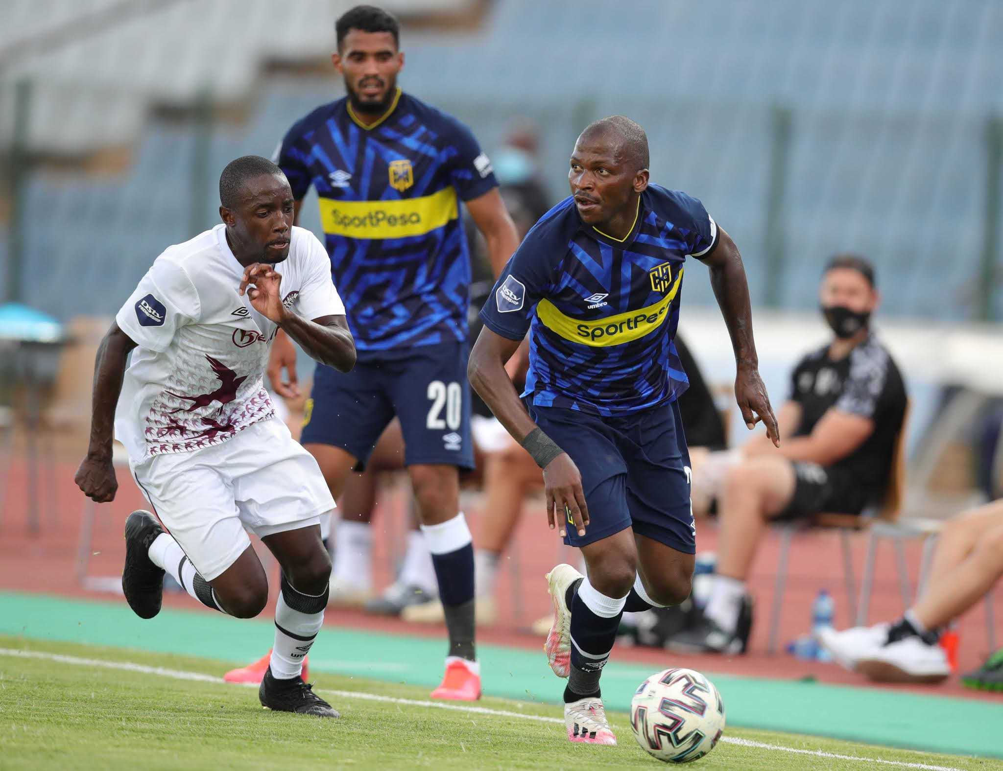 """Cape Town City and Swallows lock horns on Sunday while the """"big guns"""" are away on CAF Champions League duty"""