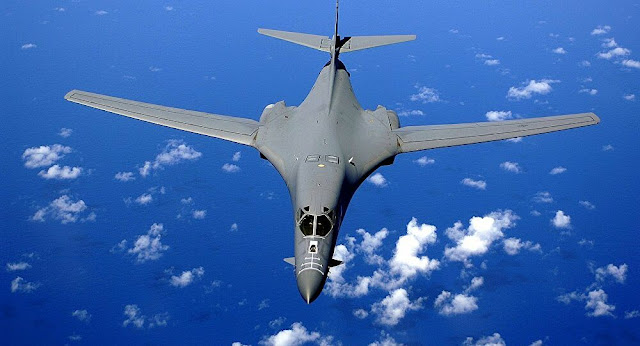 US B-1 strategic bombers