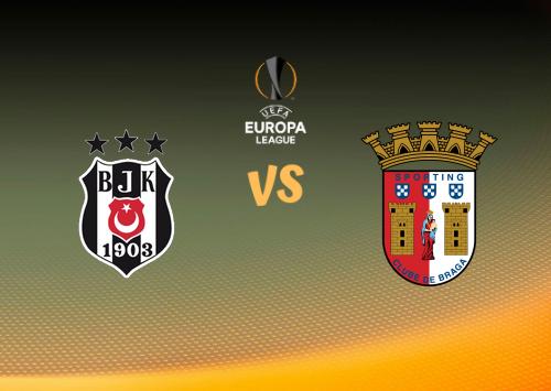 Beşiktaş vs Sporting Braga  Resumen