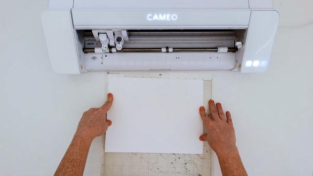 paper crafts, silhouette CAMEO beginners, paper card, beginner tutorials, card stock