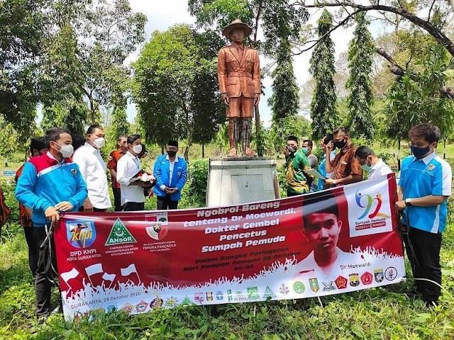 Peringatan Hari Sumpah Pemuda, Gibran-Teguh Meneladani Jiwa Ksatria Dr. Moewardi