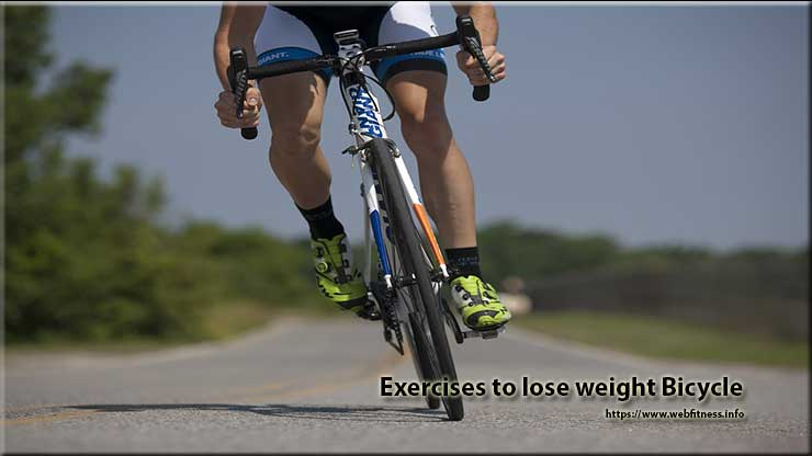 Exercises to lose weight Bicycle