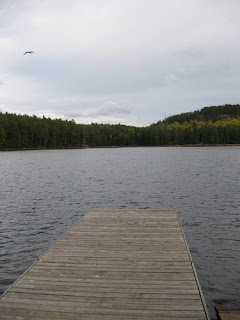 Algonqun Outfitters Dock.