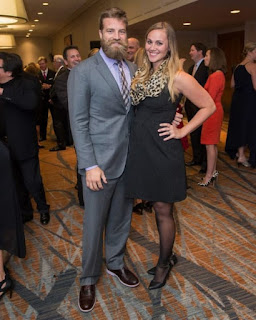 Ryan Fitzpatrick With His Wife Liza Barber
