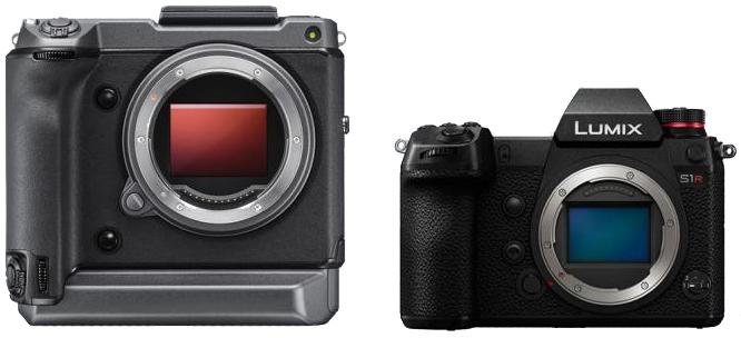 Fujifilm GFX 100 и Panasonic Lumix S1R