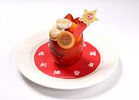 Cafetería de Sailor Moon en Japón, Postres