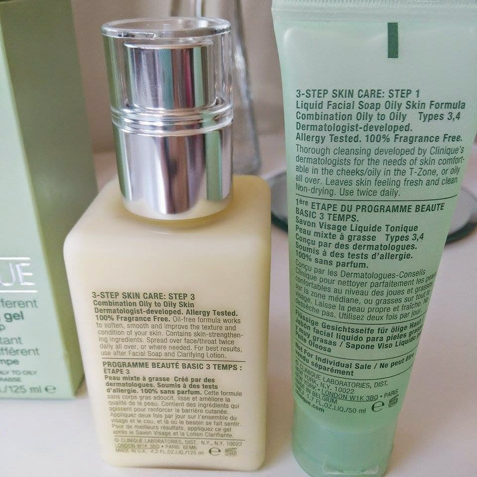 Clinique Moisturizer & Facial soap!   Boots - amyjaneoldfield