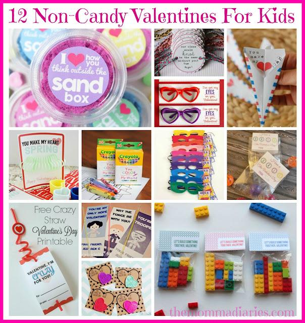 non-candy valentines, kids valentines, DIY valentines