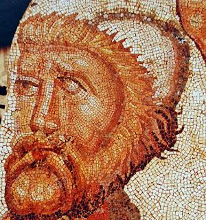 Mozaika, vaizduojanti Odisėją, IV a. ispanija
