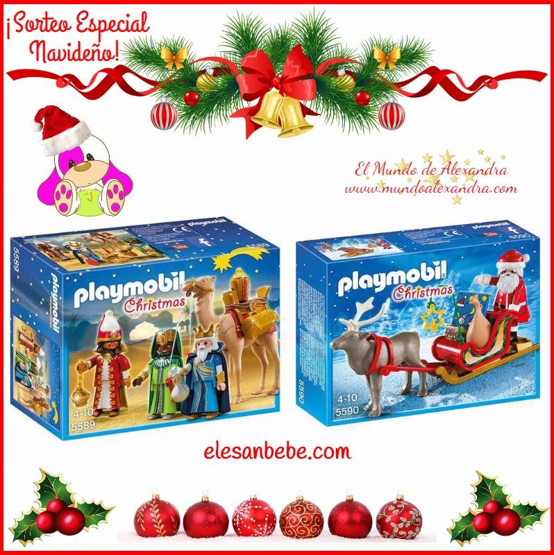muñecos navideños playmobil