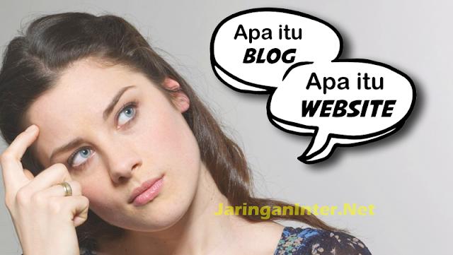 Pengertian Blog dan Website serta perbedaannya