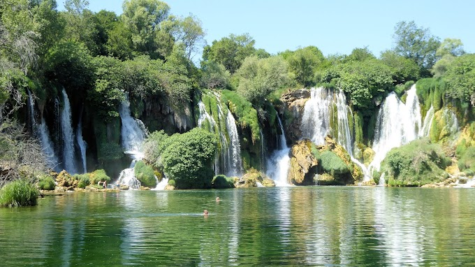 Kravica Waterfalls in Bosnia and Herzegovina