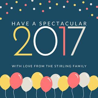 Beautiful Baloon New Year eCard
