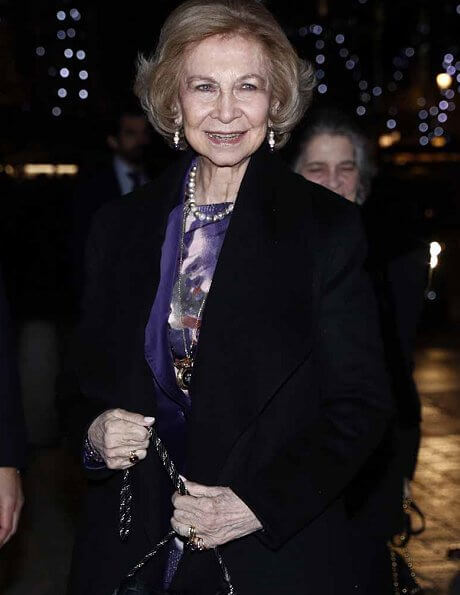 Queen Sofia of Spain and her sister Princess Irene of Greece attended a concert performed by recycled-instruments orchestra Cateura