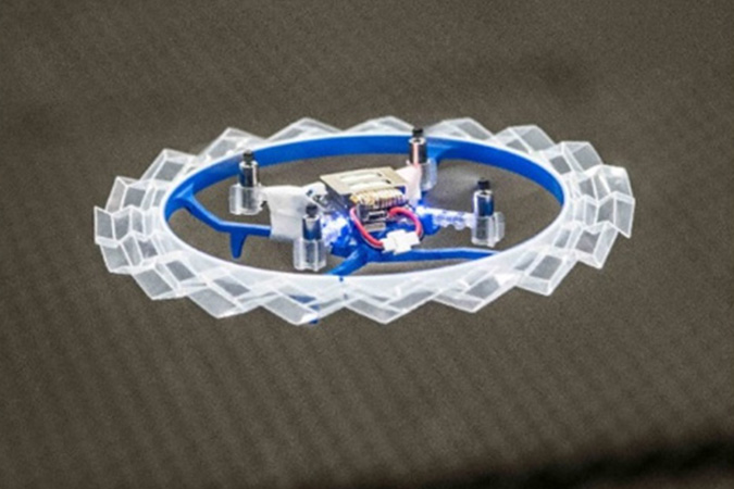 Penelitian Rotorigami A Rotary Origami Protective System for Robotic Rotorcraft