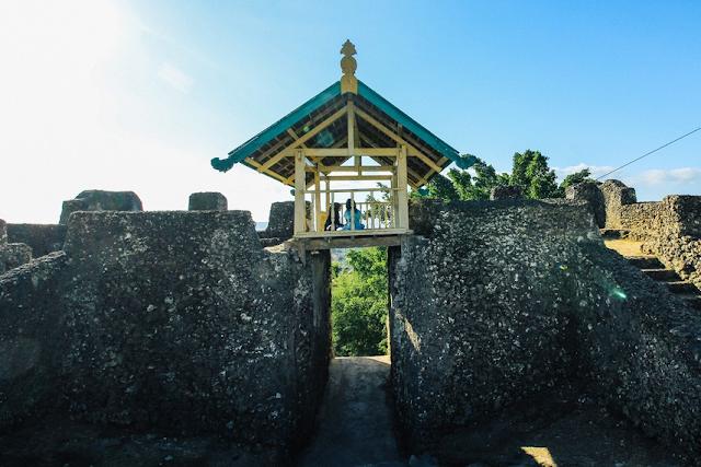 Pesona Wisata Benteng Keraton Buton Sulawesi Tenggara