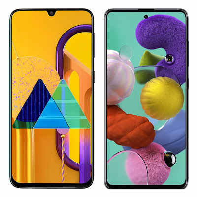 Samsung Galaxy A51 VS M30s