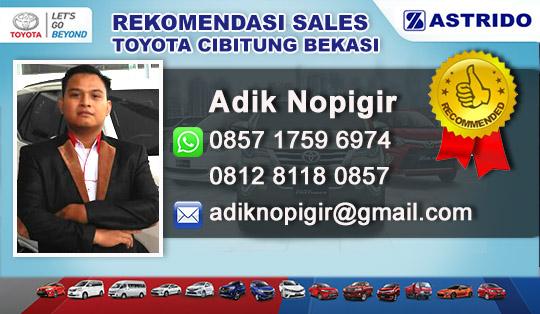Rekomendasi Sales Toyota Cibitung Bekasi