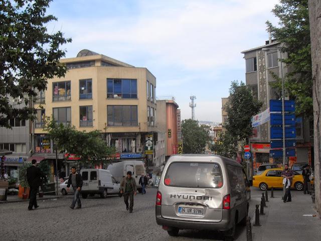 una calle cualquiera en estambul