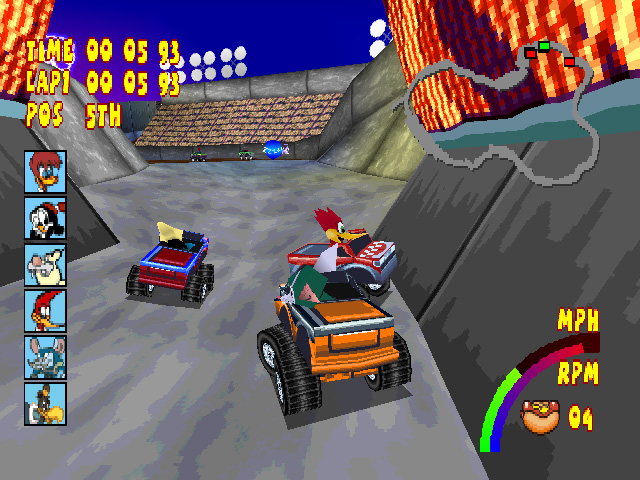 Download Woody Woodpecker Racing ISO PS 1 High Compress