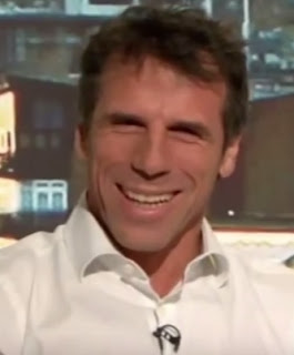 Zola was hugely popular with Chelsea's fans