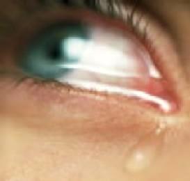 Imagen de las lágrimas de una mujer