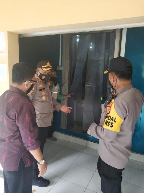 Polresta Mataram Jaga Ketat Penyimpanan Vaksin 24 Jam Penuh