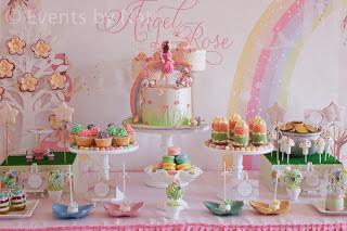 #fairy party #Rainbow cakes