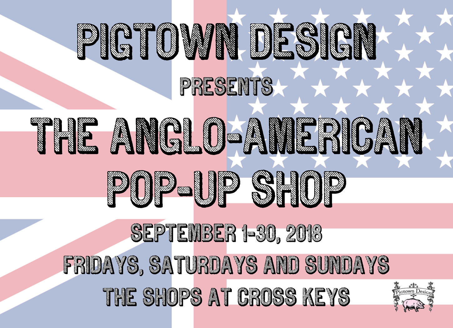 ANGLO-AMERICAN POP-UP SHOP