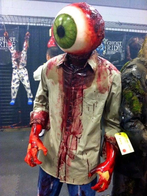 Big Bloody Eyeball Halloween Costume