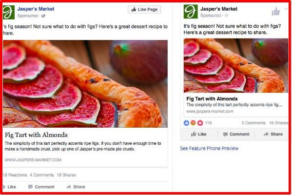 facebook desktop news feed ad size