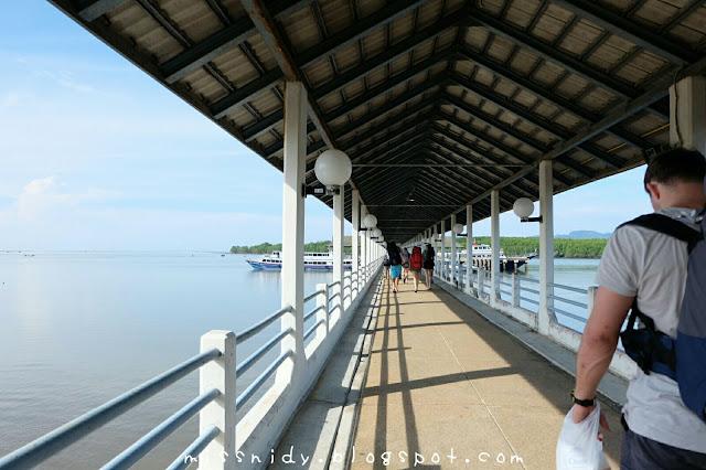 Klong Jilad Pier