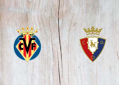 Villarreal vs Osasuna -Highlights 11 April 2021