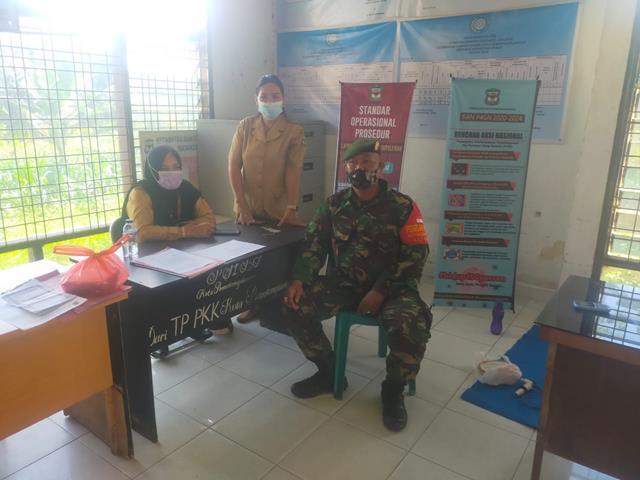 Jalin Silaturahmi, Personel Koramil 04/Siantar Barat Jajaran Kodim 0207/Simalungun Laksanakan Komsos