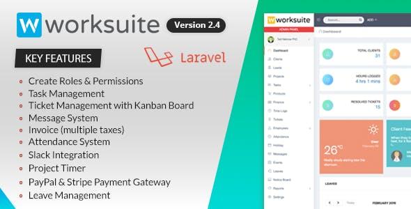 WORKSUITE v2.4 - Project Management System